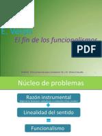 Verón - Funcionalismo y Del Sujeto- 1
