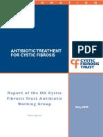 Antibiotic Treatment for Cystic Fibrosis