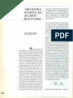 1989 Todo. La Metáfora Narcisista en El Spot Publicitario