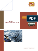 7 Calvary Forged Ball Valve Catalog