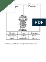 Sustantivos Adjetivos y Articulos