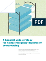 A Hospital Wide Strategy for Fixing Emergency Department Overcrowding