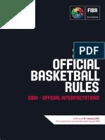 FIBAOfficialInterpretationsJAN2019 v1.0-Y Low