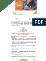 Certificado de Cuenta Banco Popular