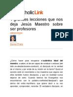 4 grandes lecciones que nos deja Jesús Maestro sobre ser profesores.pdf
