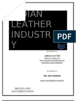 Study of Indian Leather Industry-2003 Version