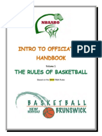 Intro to Officiating 2018 - Rules
