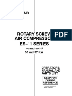 ROTARY SCREW AIR COMPRESSOR ES-11
