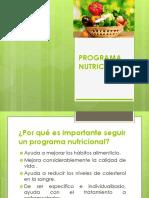 Programa Nutricional