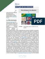 SEMANA 1 Microbiología de Los Alimentos