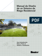 Manual de Un Sistema de Riego Residencial