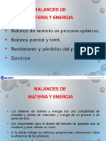 Proc Ind Sem3 - Balance de Materia en Proc Quimicos
