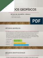Método Del Gravimetro y Pendulo