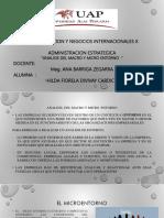 Analisis Del Macro y Micro Ppt