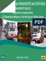 Autobuses y Espacio Público en Costa Rica