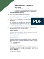 Teoria Del Examen Final de s10 Costos y Presupuestos