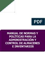 Normas y Politicas Control de Inventarios