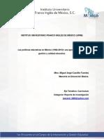 Ponencia_Mesa2_CastilloMiguelAngel_Las Políticas Educativas en México (1982-2012)