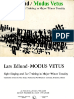 Lars Edlund. Modus Vetus.