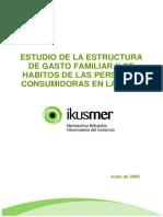 Informe Habitos Consumidores Vascos