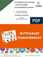actividades concatenadas