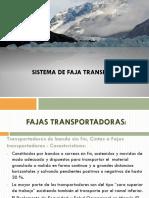 Sistema de Fajas Transportadoras