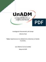 Integracion y Redaccion Del Informe Final