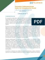 CONVOCATORIA FELAFACS