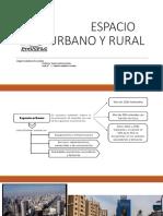 Espacio Urbano y Rural 15 Marzo