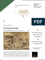 Apocalipsis Mariano - Una Nueva Estirpe