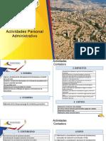 Actividades y Logros Administrativa 2