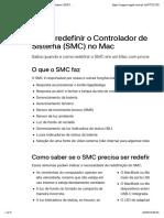 Como redefinir o Controlador de Gestão do Sistema (SMC) no Mac - Suporte da Apple