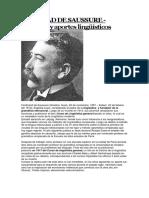 Ferdinad de Saussure