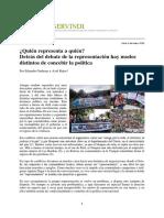 Representacion politica y otras politicas Gudynas Rojas