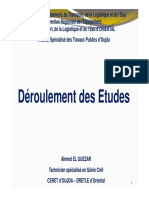ISTP Déroulement d'Études 2018-2019 Partie Total