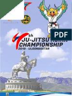 Asian jujitsu championship 2019