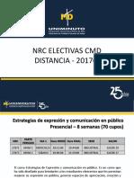 Nrc Electivas CMD