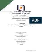 Practica 6. Descripción y Funcionamiento Del Equipo Para Flujo de Fluidos Líquidos