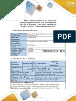 Guía de Actividades y Rúbrica de Evaluación - Fase 4 - Lectura Crítica Sobre La Empatía