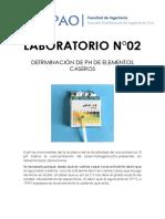 Práctica de laboratorio N° 02_Agua y alcantarillado
