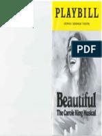 19-03-14 Stephen Sondheim Theater - Beautiful - The Carole King Musical