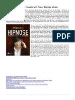 8542213335 Hipnose Descubra o Poder Da Sua Mente