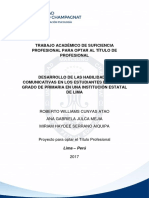 Historietas Trabajo de Suficiencia (Cunyas Atao, Julca Mejia y Serrano Aiquipa)