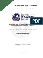 Giron Alicia Factibilidad Exportacion Arandanos