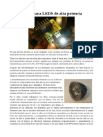 048 – Driver Para LEDS de Alta Potencia