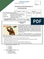 Evaluación Proceso Lectura Domiciliaria Sandokan