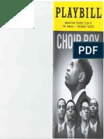 19-03-14 Manhattan Theater Club - Choir Boy