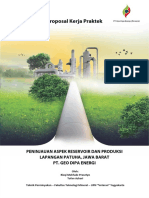 Proposal Kerja Praktek Pt Geo Dipa Energi Patuha
