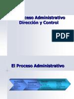 Procesos Administrativos Direccion y Control