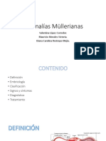 Anomalías Müllerianas